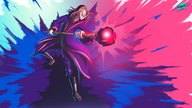 Masked Warlock | Dungeons and Dragons