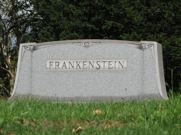 Frankenstein's Grave by Granny-Chobit