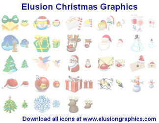 Elusion Christmas Graphics by Iconoman
