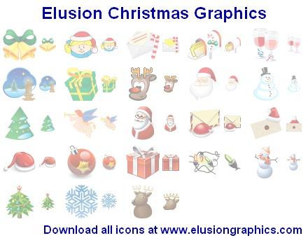 Elusion Christmas Graphics by Iconoman
