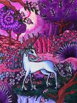 Last Unicorn Fanart by SweetieBlueCM