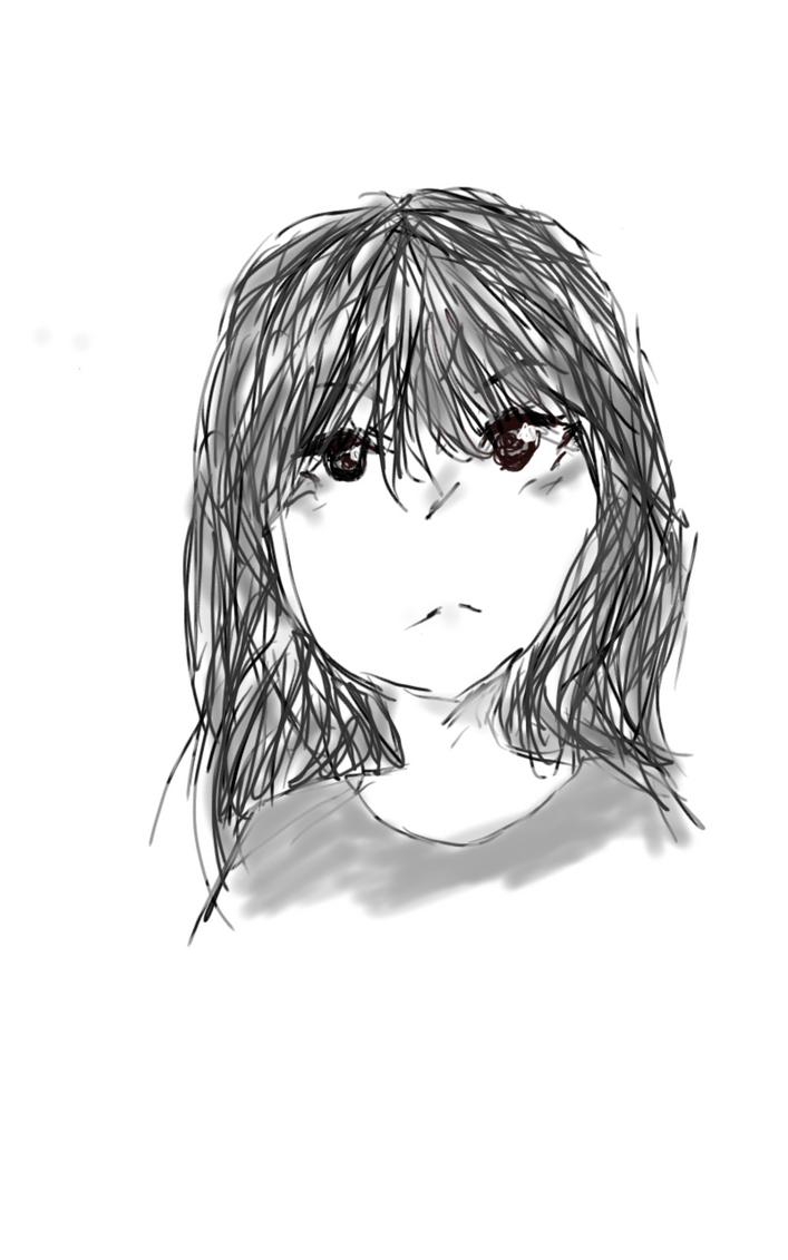 Anime Girl by awesomehero43