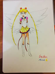 Sailor moon  by awesomehero43