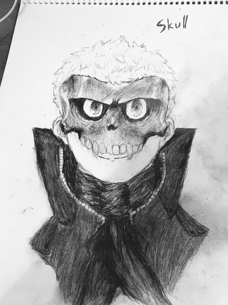 Persona 5- Ryuji sakamoto / Skull by awesomehero43