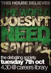 The World Doesn't Need Saving