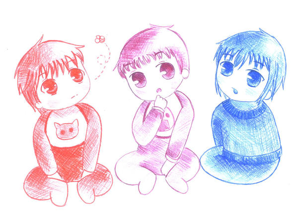 fruits basket:babies by twins-with-wings on DeviantArt