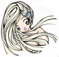 Mermaid Faceshot by chanchan