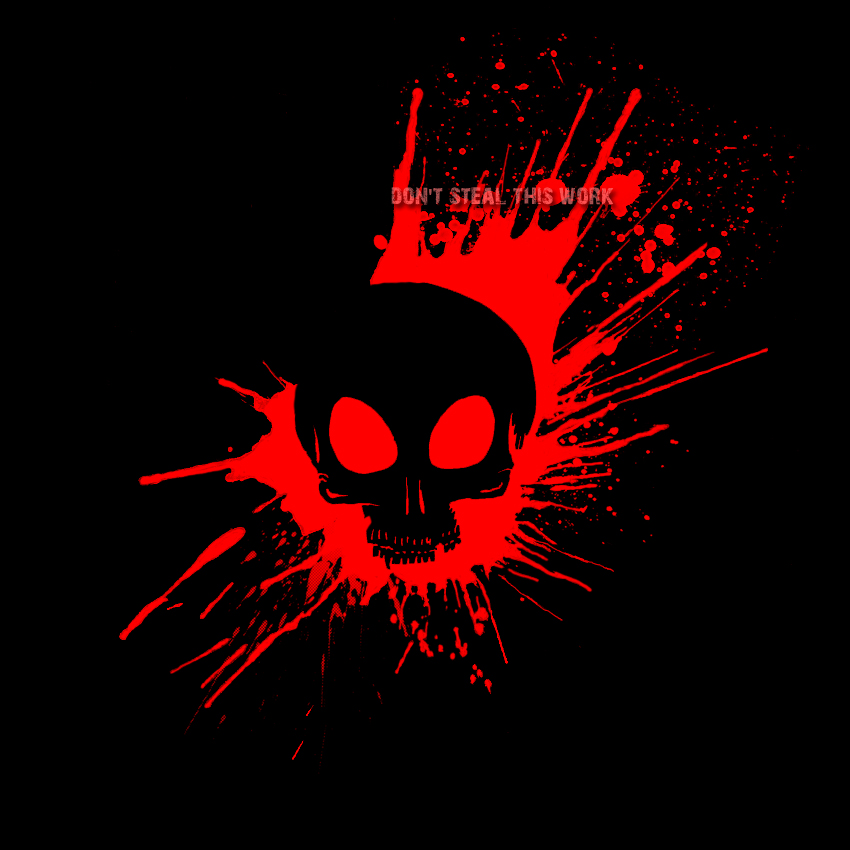 bloody skull wallpaper related - photo #17