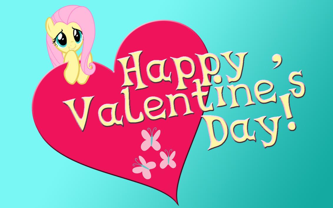 Fluttershy Valentine by Celesi