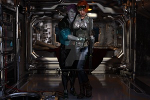 Space Squadron Cadet Lovers 02