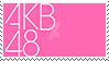 AKB48 Stamp by Mukuchin