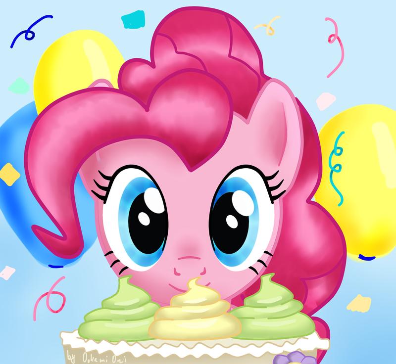 Pinkie Pie :3 (ver.2) by 0okami-0ni