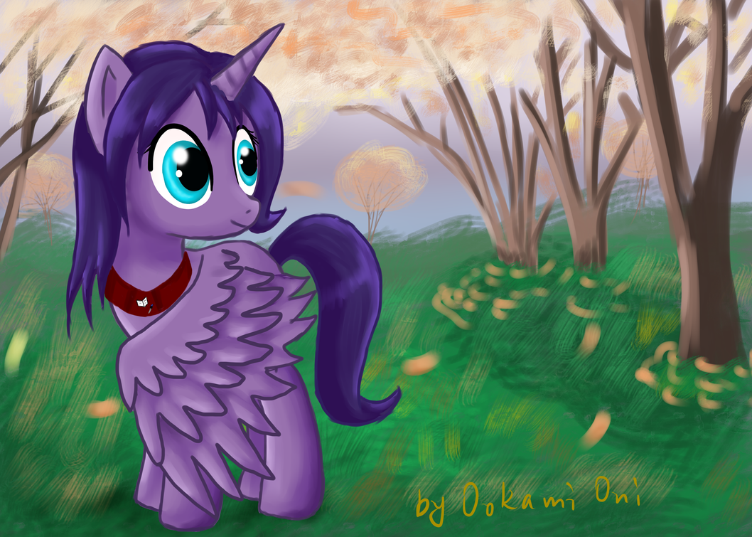 Alicorn by 0okami-0ni
