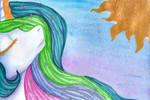 Celestia and Sun by 0okami-0ni