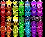 Rainbow Stars (FREE stock)