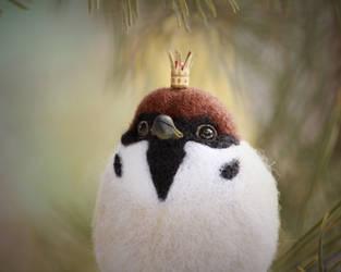 Tree sparrow 6 by Sillykoshka