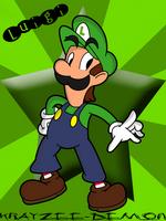 Luigi by Krayzee-Demon