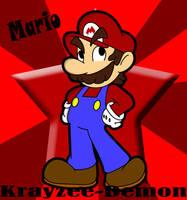 Mario by Krayzee-Demon