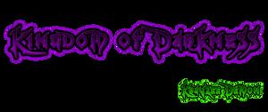 Kingdom Of Darkness Logo by Krayzee-Demon