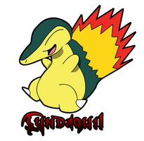 Cyndaquil by Krayzee-Demon