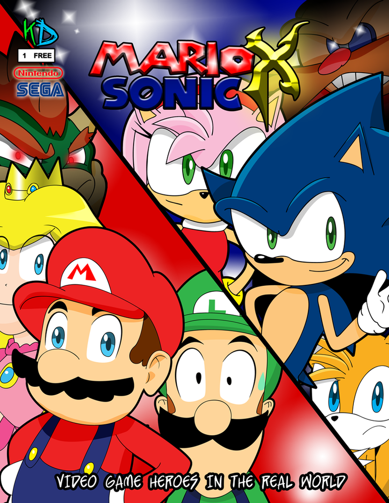 Mario X Luigi Yaoi Fanfiction Mario sonic x cover issue 1 by