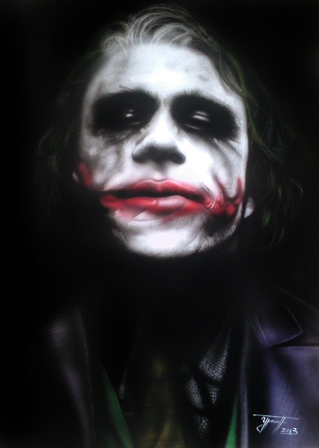 Airbrush Joker Wallpaper