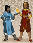 Tihi and Aranui Avatar AU