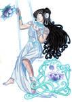 Watercolor Shui-Mucha
