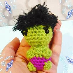 Tiny Hulk Amigurumi