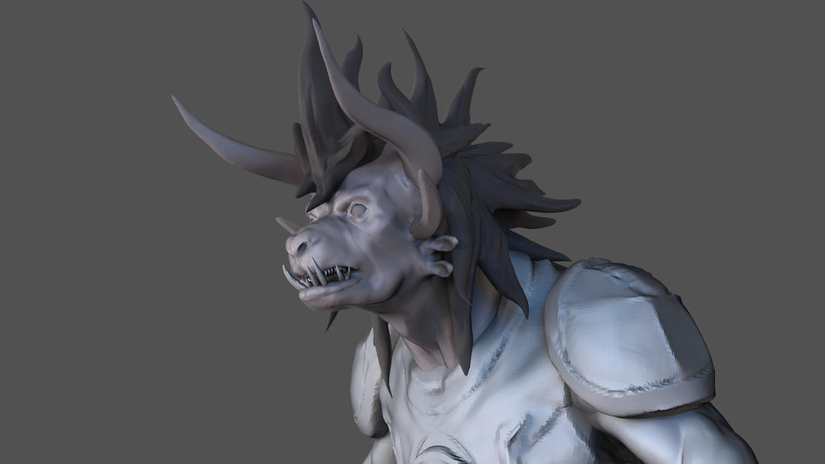 Gw2 Charr WIP by Red-Hots