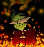 Vampire Zim by n33rrx
