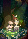 Over the Garden Wall: Flowerbed