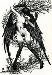 Crow by BIuntness