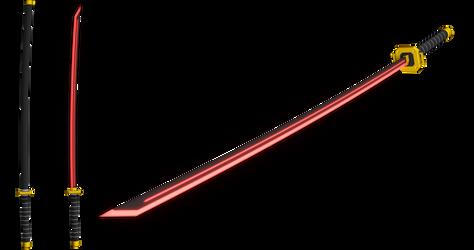 Long Basic Sword X (MMD)
