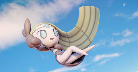 Meloetta - Pokemon (MMD)