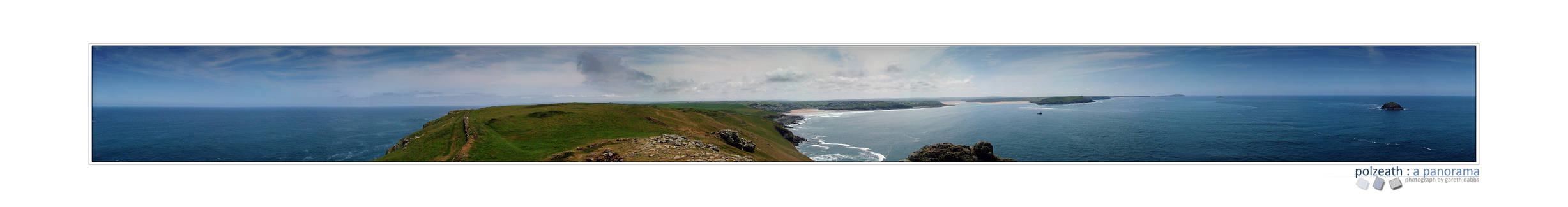 Polzeath : a panorama