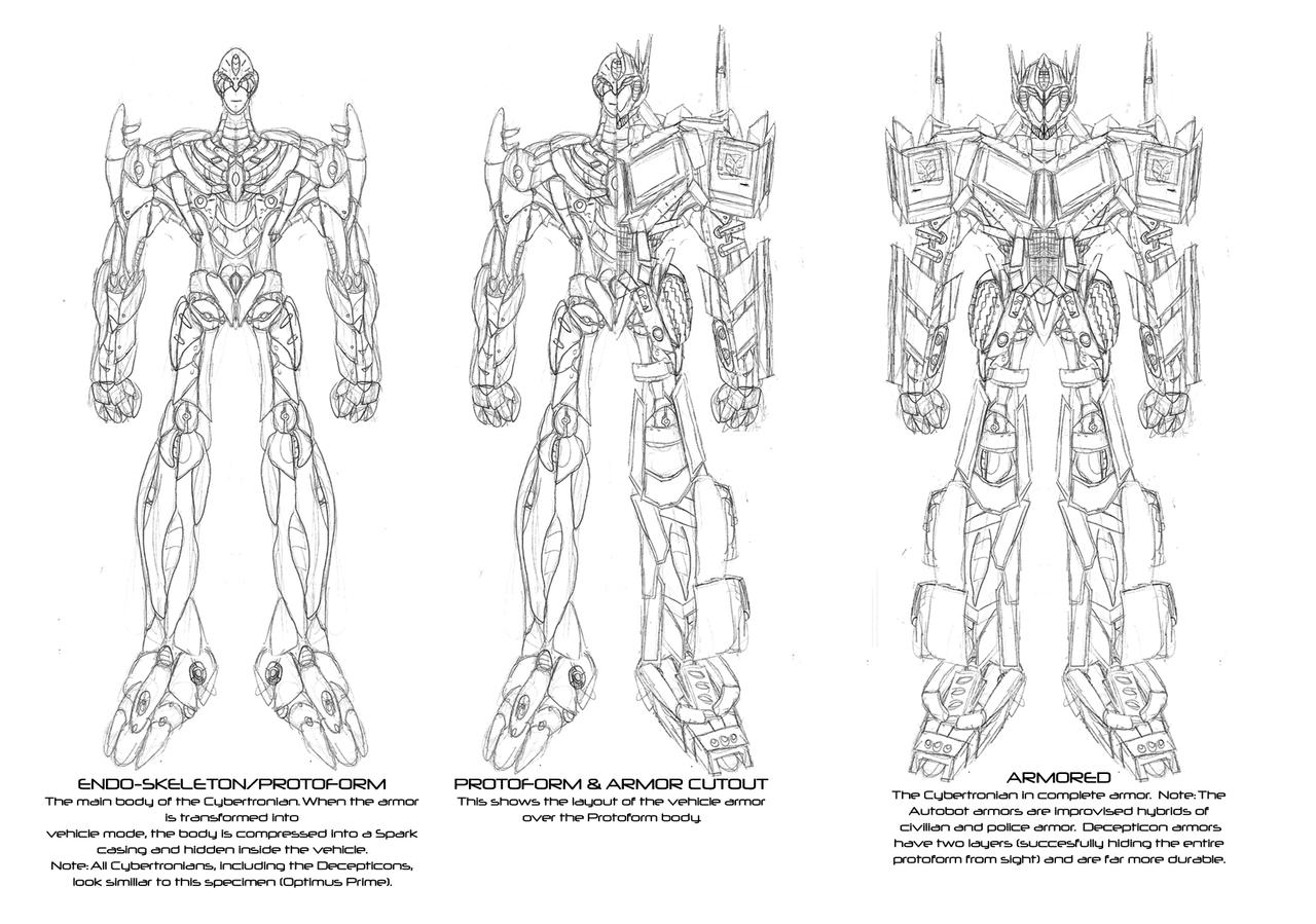 Optimus Prime Coloring Pages With Trailer