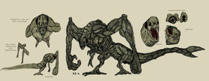 Cloverfield monster study V2