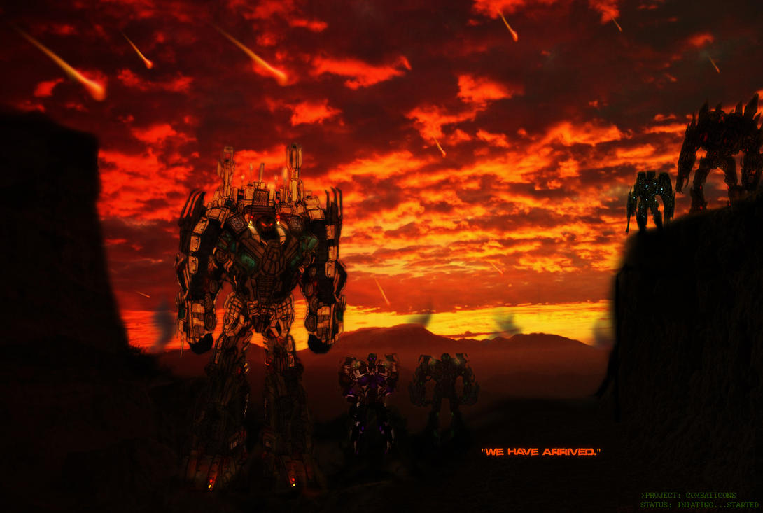 Concept Art Bruticus Combaticons Transformers 3