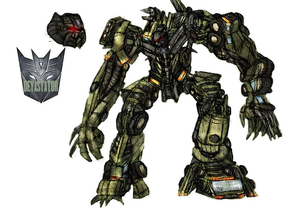 transformers 2 devastator by crossdominatrix5 on - 1024×721