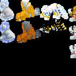 Leppardmon Sprites by letsseeaction