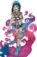 CA Flash Quest- Mythic Baku Rhodochrosite Frankie by Unisamas-Art