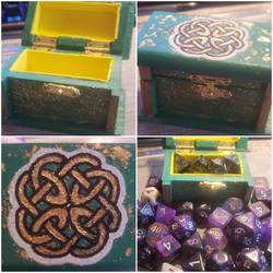 Celticknot box dice box
