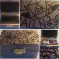 Dice box- All Natural