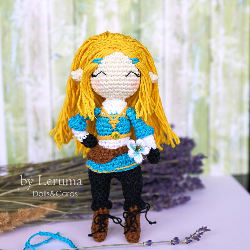 Amigurumi Princess Belle crochet doll | Shopee Malaysia | 800x800