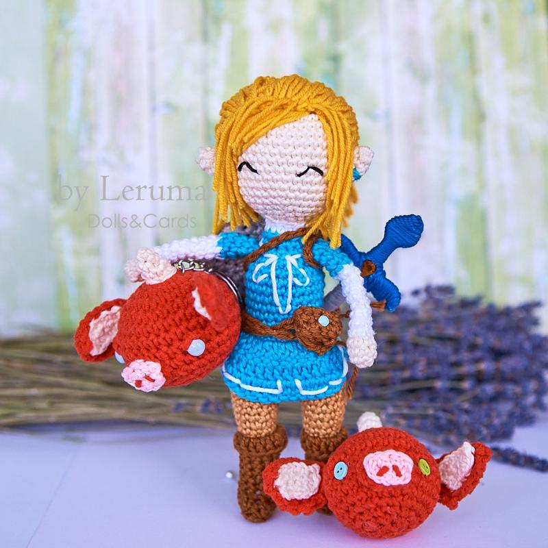 Amigurumi Crochet Colorful Cute Keychain Baymax Couple (RM26/each ... | 800x800