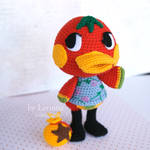 amigurumi Ketchup from Animal Crossing