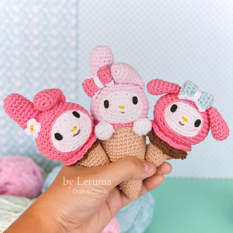 Ice Cream Parlor / DROPS Children 24-30 - Free crochet patterns by ... | 800x800