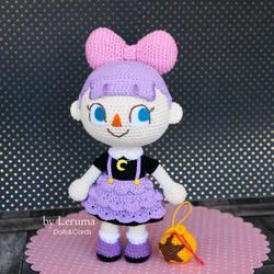Custom crochet Animal Crossing Mayor