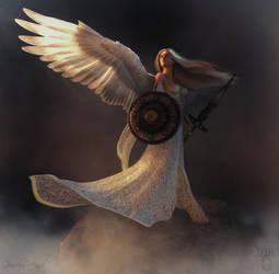 Guardian  Angel. by Mirriejam